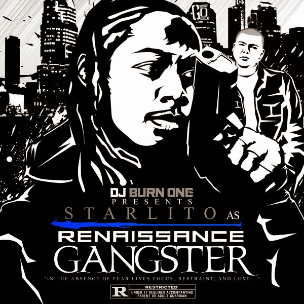 Starlito & DJ Burn One - Renaissance Gangster (DJ Burn Presents Starlito) Cover