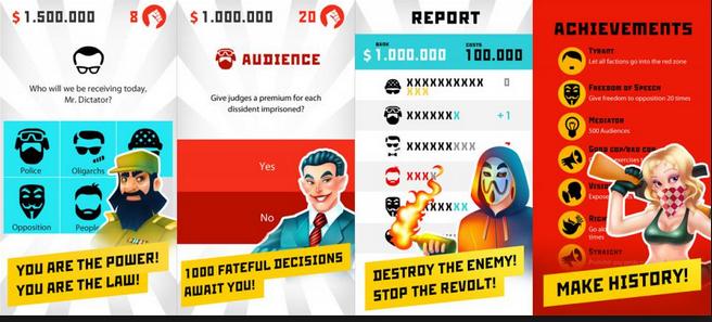 Dictator: Revolt v1.3.3 Apk Mod
