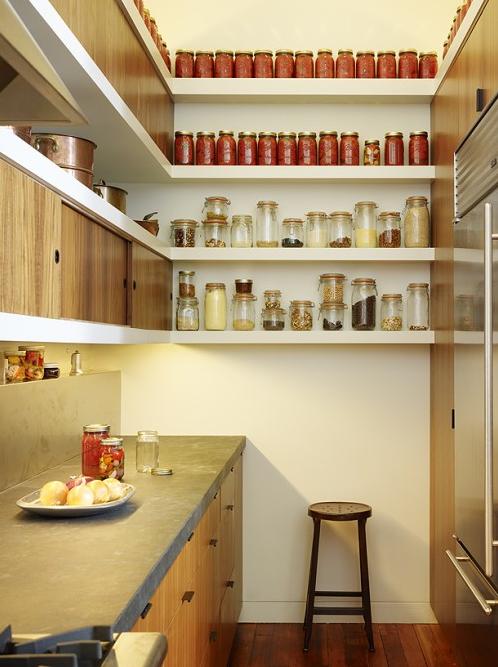 Excepcional Cocina Con Despensa Diseña Esquina Ornamento - Ideas Del ...