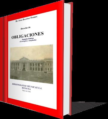 Derecho de Obligaciones - Ivan Escobar Fornos