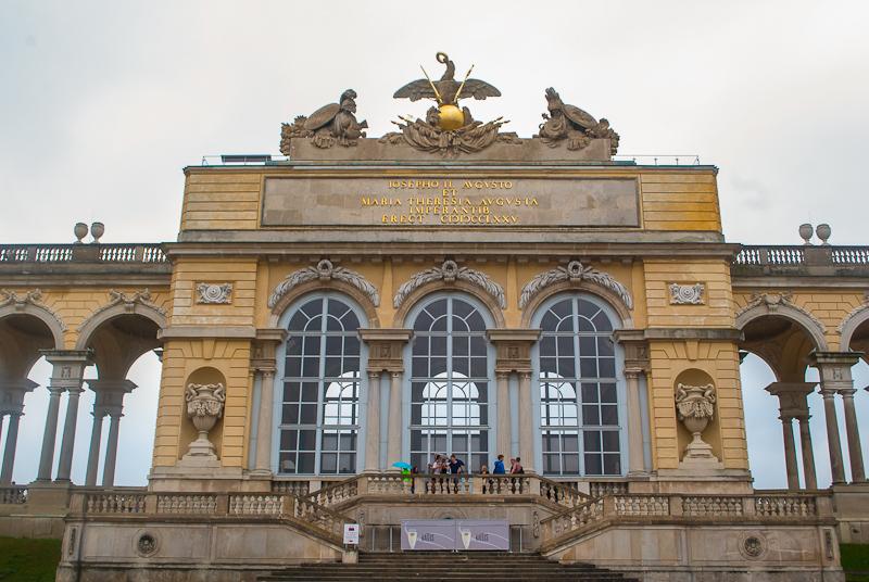 Gloriette Schoönbrunn Palace in Vienna, Austria