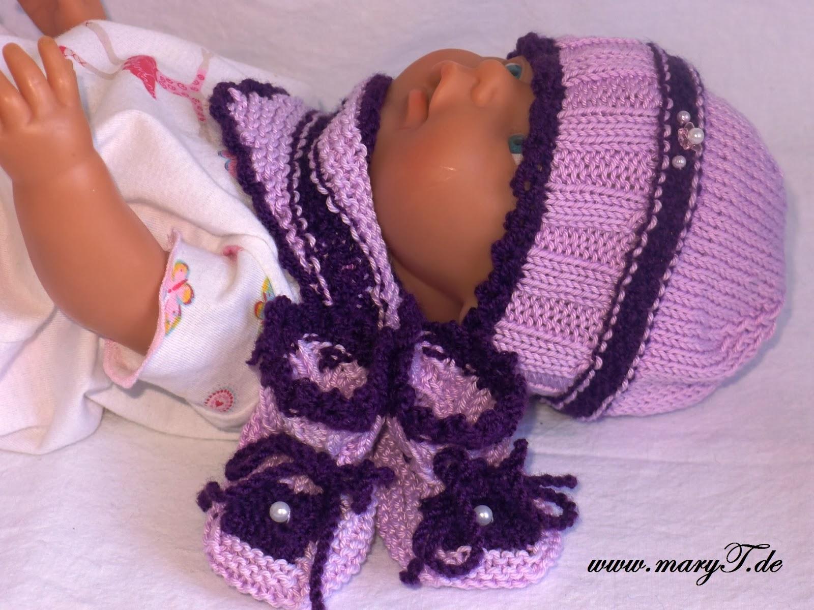 Babykleidung, Babymütze, Dreieckstuch, Schal,