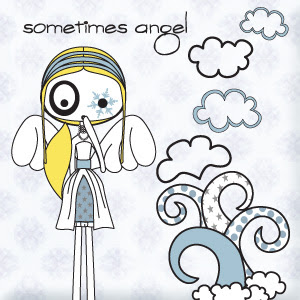 ilustración sometimes angel (100% handmade with ♥)