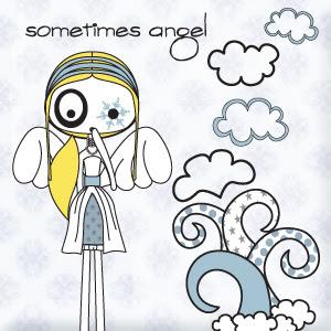 ilustración sometimes angel (100% handmade with ♥)