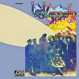 Led Zeppelin II 2014 Remaster - back cover