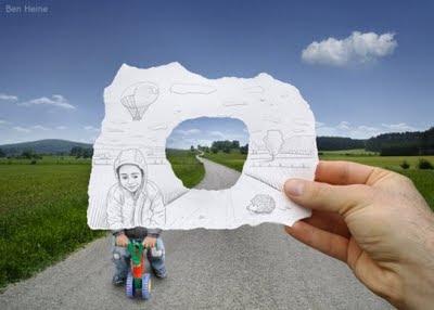 kamera+vs+pencil billyinfo2 Ilustrasi Kamera vs. Lukisan Pensil Yang Menakjubkan