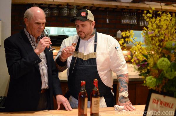Julian Van Winkle III and Chef Matt Jennings
