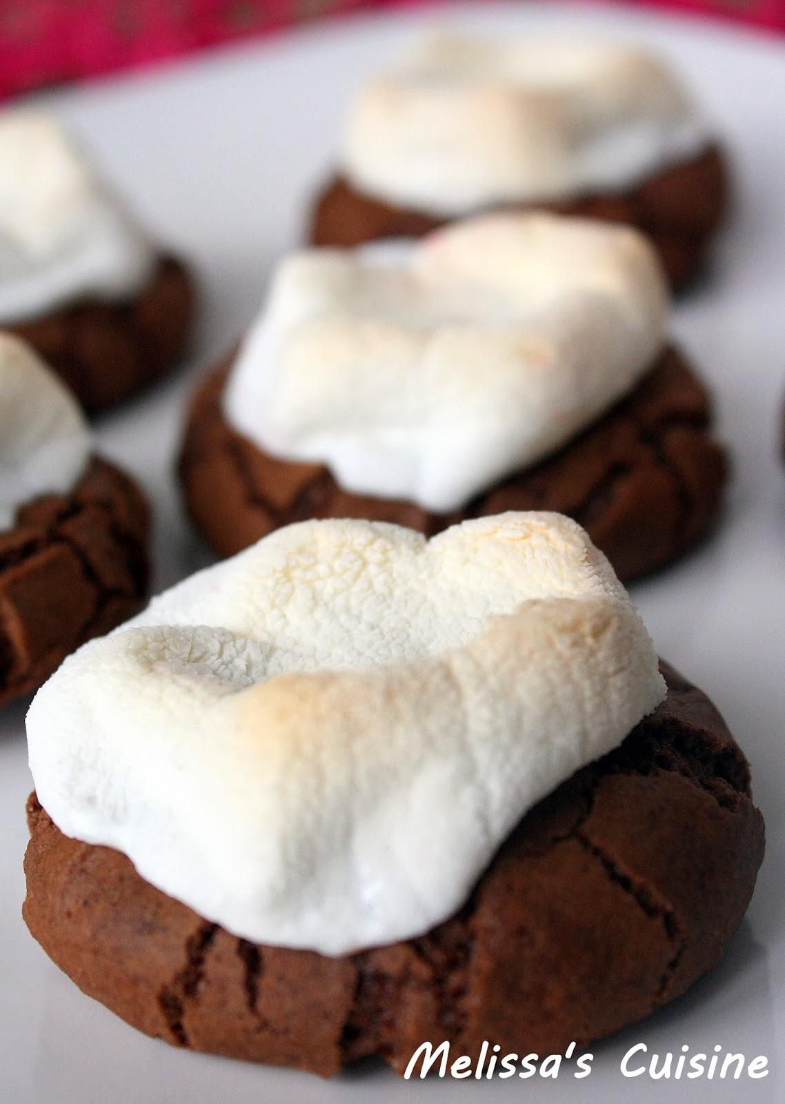 Melissa's Cuisine: Hot Chocolate Cookies