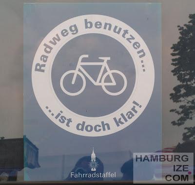 Hamburger Fahrradstaffel