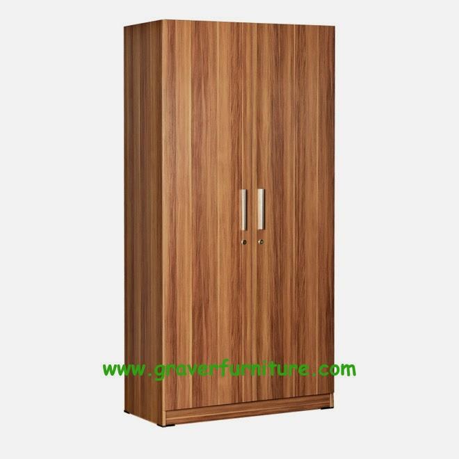 Lemari Pakaian 2 Pintu WD 195 Benefit Furniture