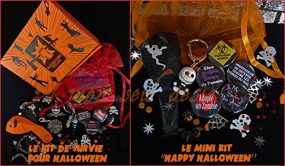 Kit Coffret Cadeaux Hallowen