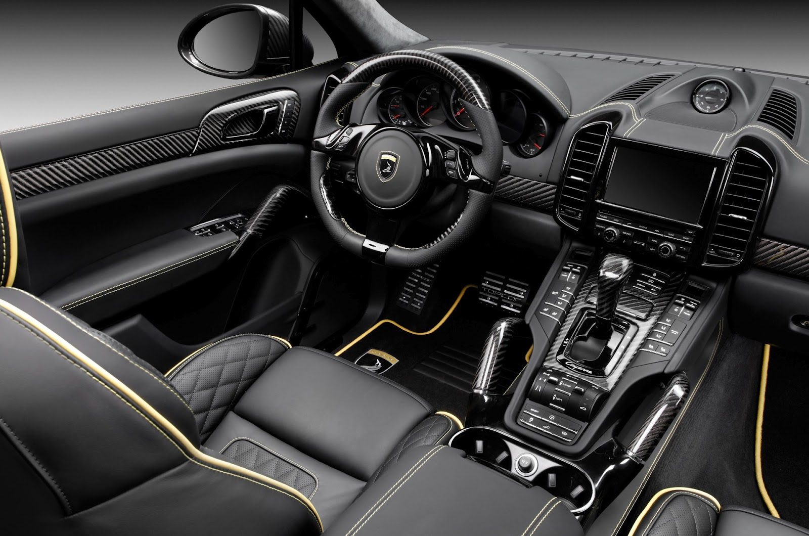 2012 topcar porsche cayenne vantage 2 carbon fiber design news hot car. Black Bedroom Furniture Sets. Home Design Ideas
