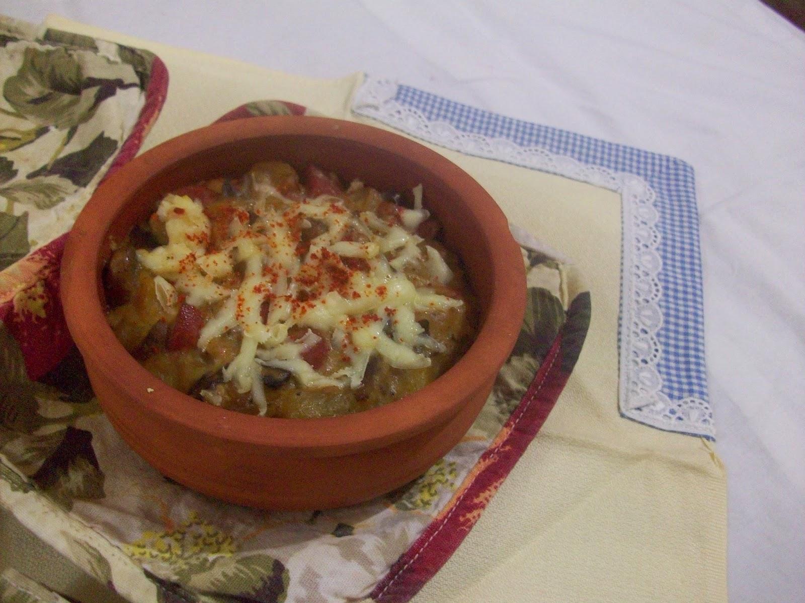 Patates püresinden güveç. Her gün için tarifler