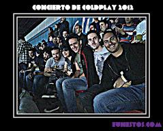 Concierto de Coldplay 2012