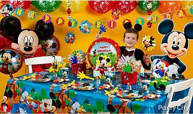 Fiestas infantiles decoraci n mickey mouse - Manteles infantiles para cumpleanos ...