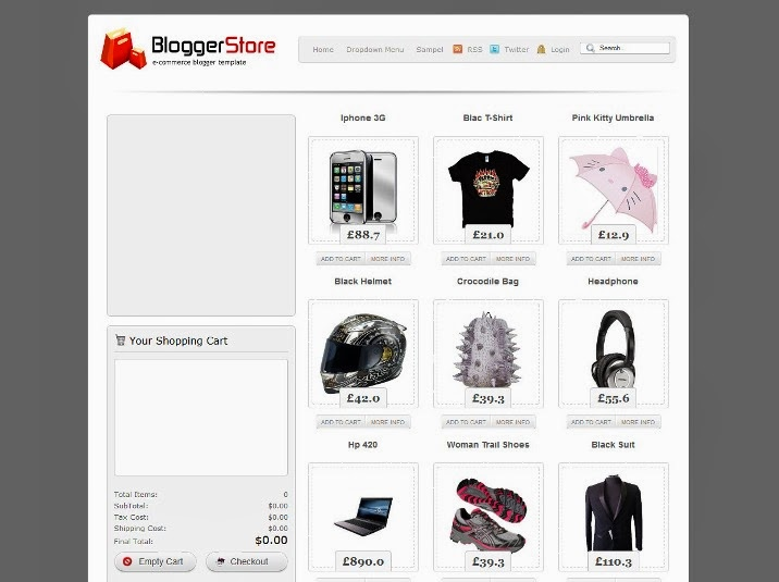 Blogger Store