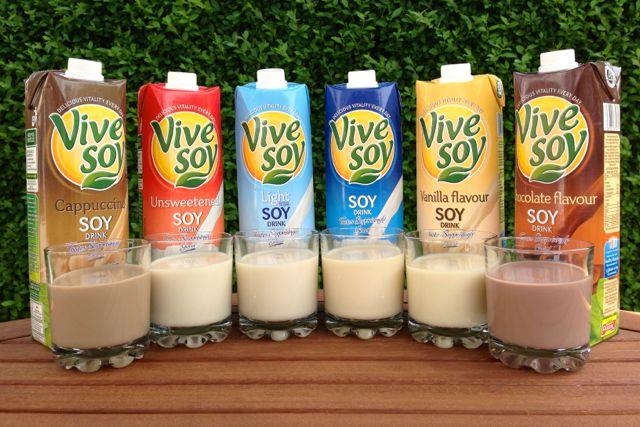 Vive Soy Range of Soya Milks