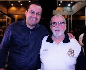 Antonio Carlos Gomes com Jô Soares