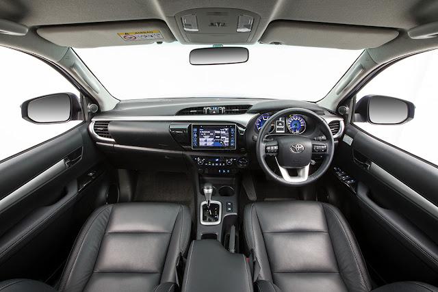 Interior All NewToyota Fortuner 2016