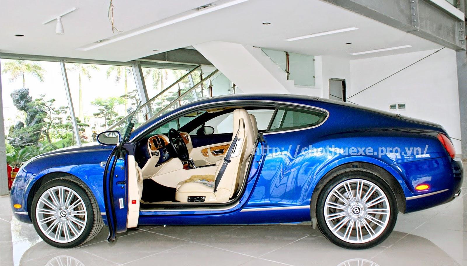 Cho thuê xe Bentley Coninental GT Speed 2