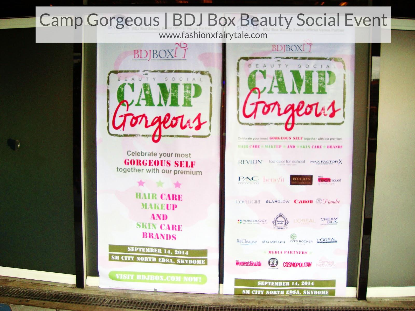 Camp Gorgeous | BDJ Box Beauty Social Event