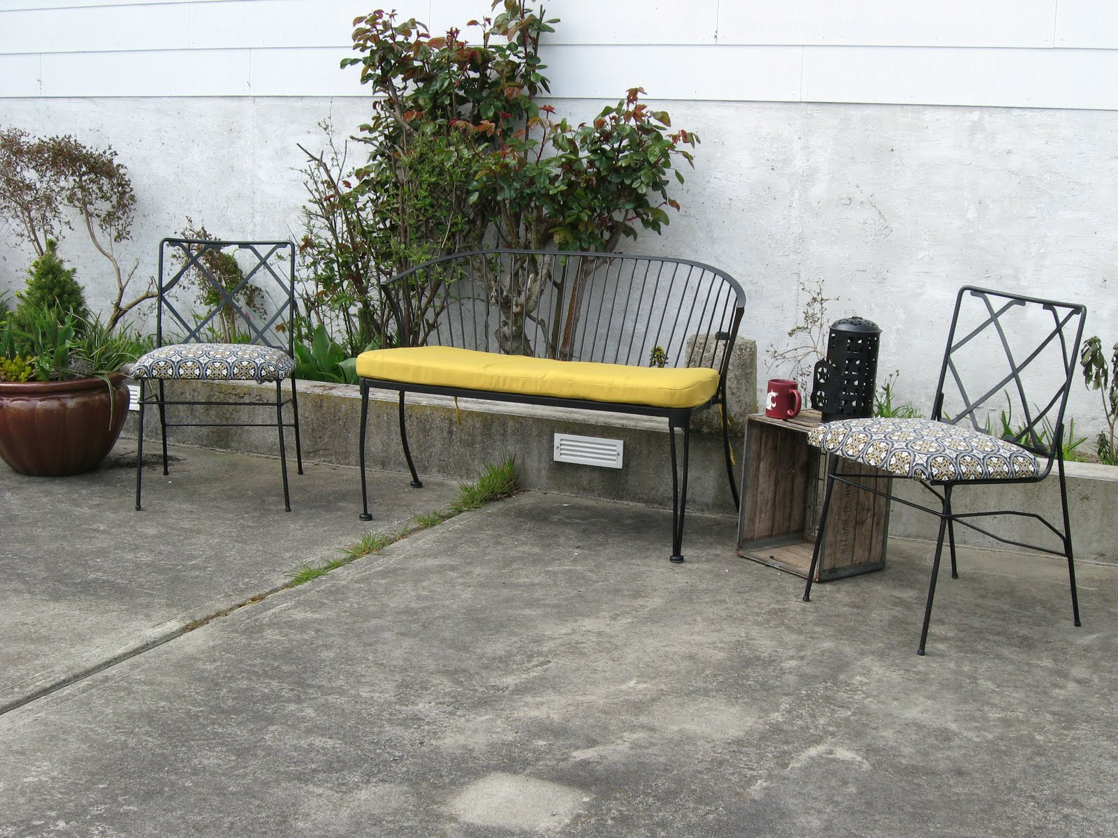 Our Sound Home: Spring Patio Furniture Project