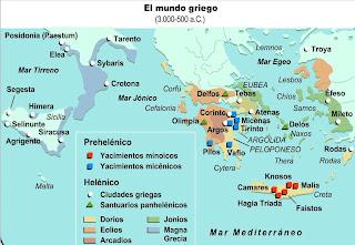 Origenes de Grecia La Civilizacion Egeo o Cretense. Isla de Creta