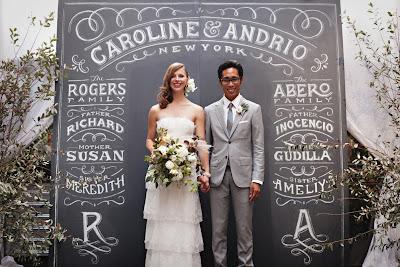 Dana Tanamachi caroline & andrio wedding