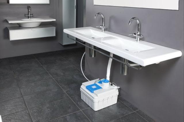 Autoconstrucci n agua reciclada para inodoros y jardines - Inodoro y lavabo en uno ...