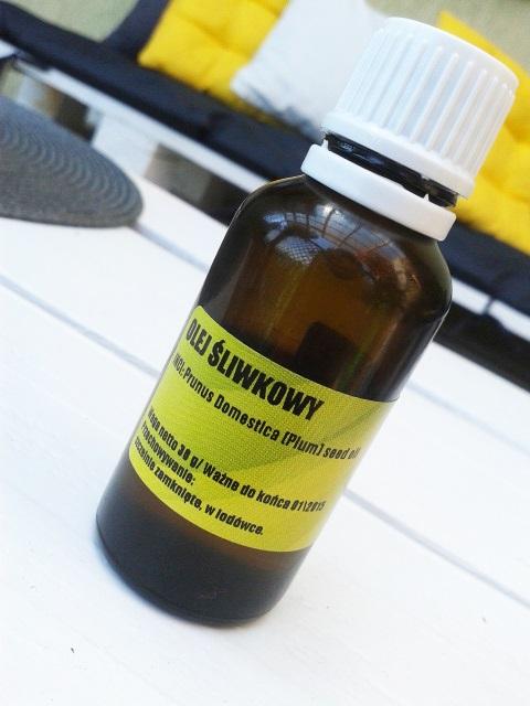 Nierafinowany olej śliwkowy - mój nowy ulubieniec :)