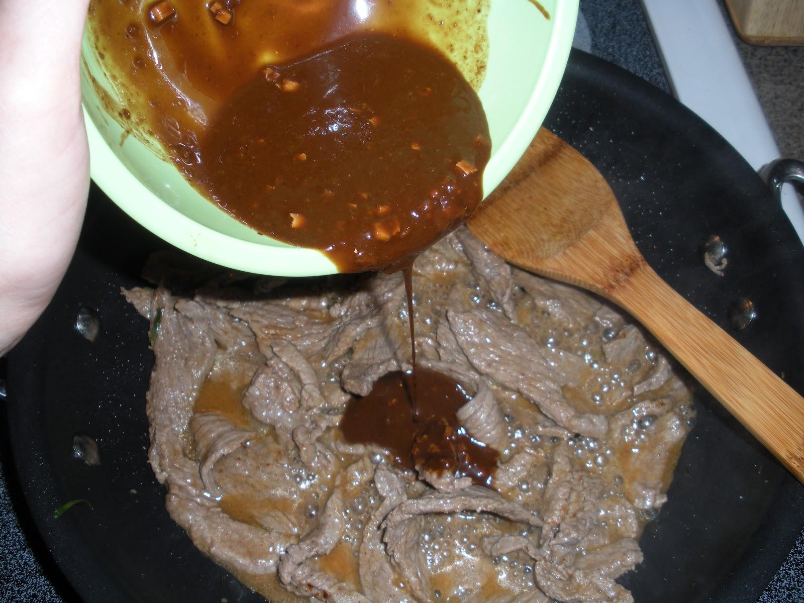 Kendras Kitchen Creations Quick n Easy Wasabi Beef Fajitas # Wasbak Zeef_202434