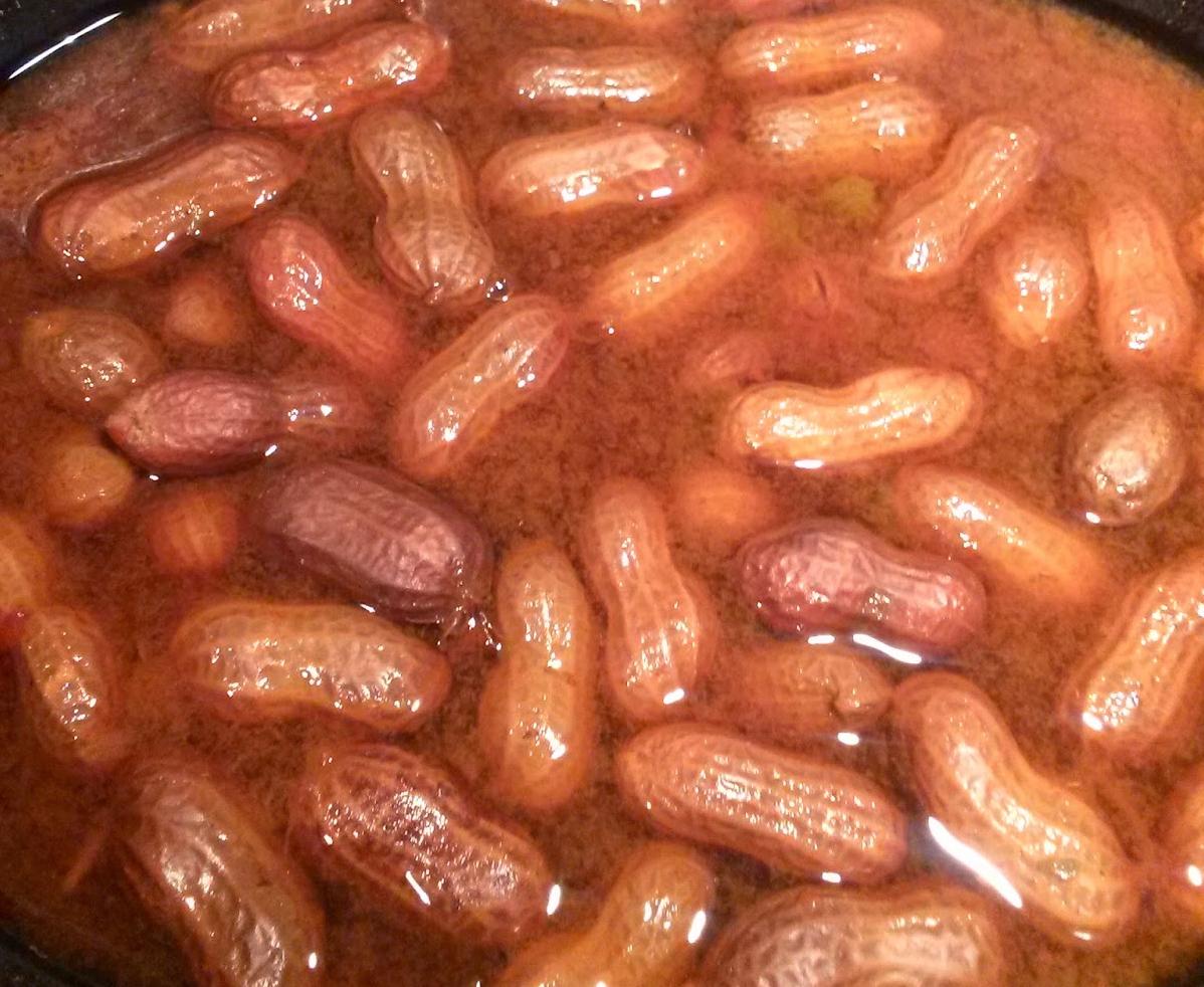 Cajun Boiled P-Nuts
