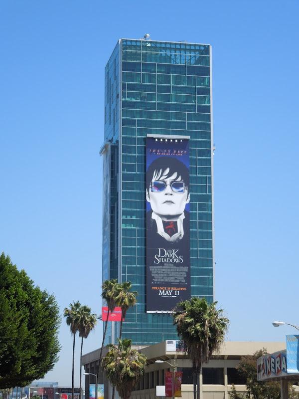 Dark Shadows movie billboard