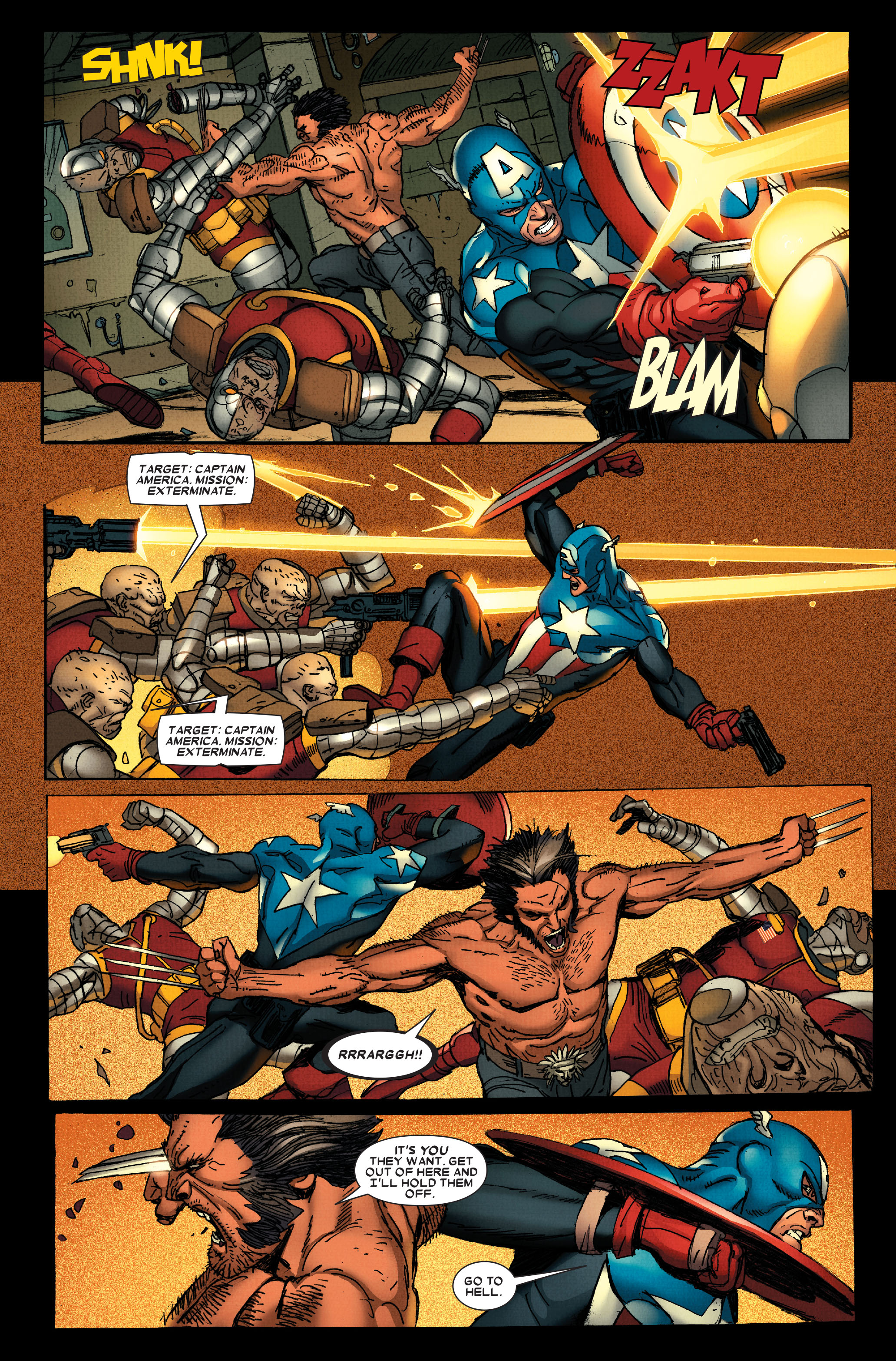 Wolverine: Weapon X #13 #4 - English 9