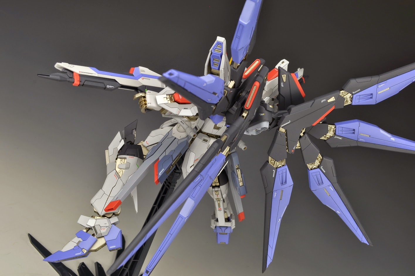 Custom Build: MSB 1/100 Strike Freedom Gundam - Gundam ...