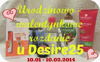http://desire25.blogspot.com/2014/01/urodzinowo-walentynkowe-rozdanie.html