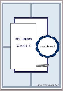 scrap sketch reto Double Take Tuesday TGF