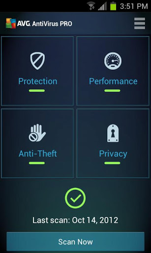 Mobile AntiVirus Security PRO v3.2.1