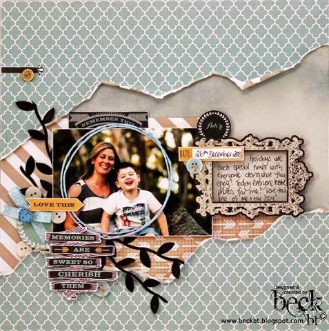 Craft Queen Blog Scrapbook Expo Beck Beattie