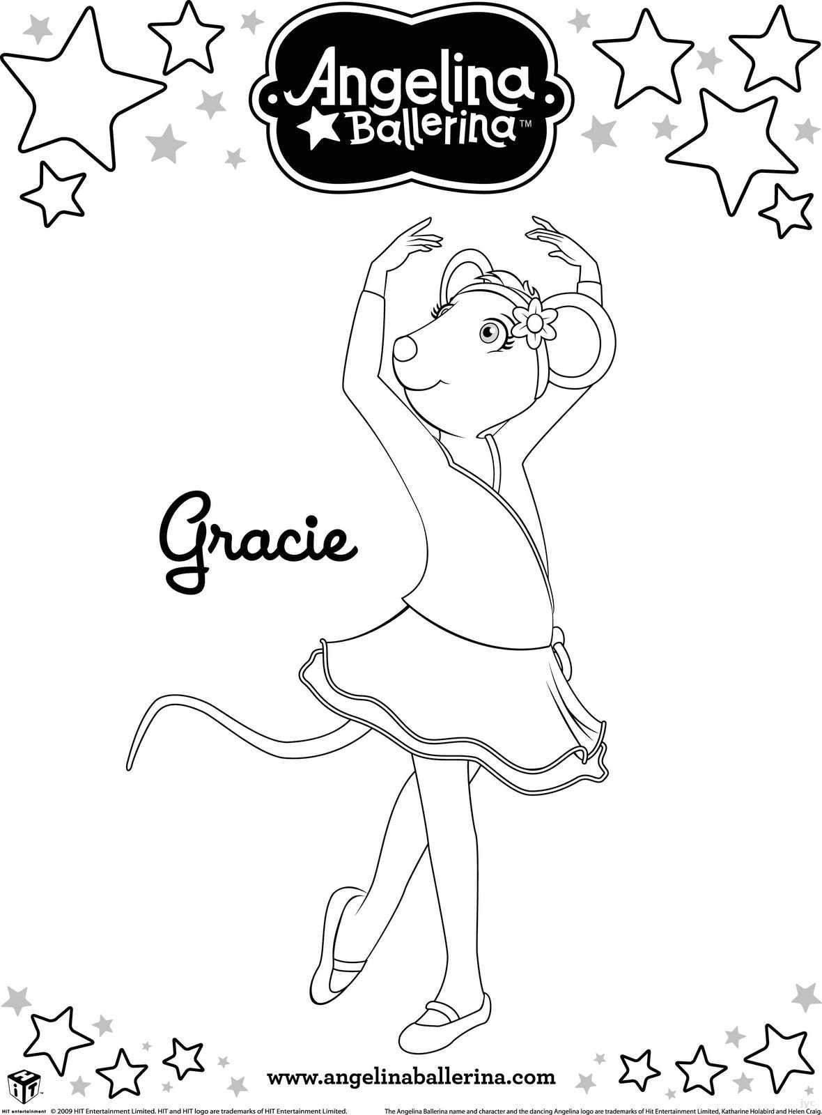 Dibujos De Angelina Ballerina Para Colorear E Imprimir ~ Ideas ...