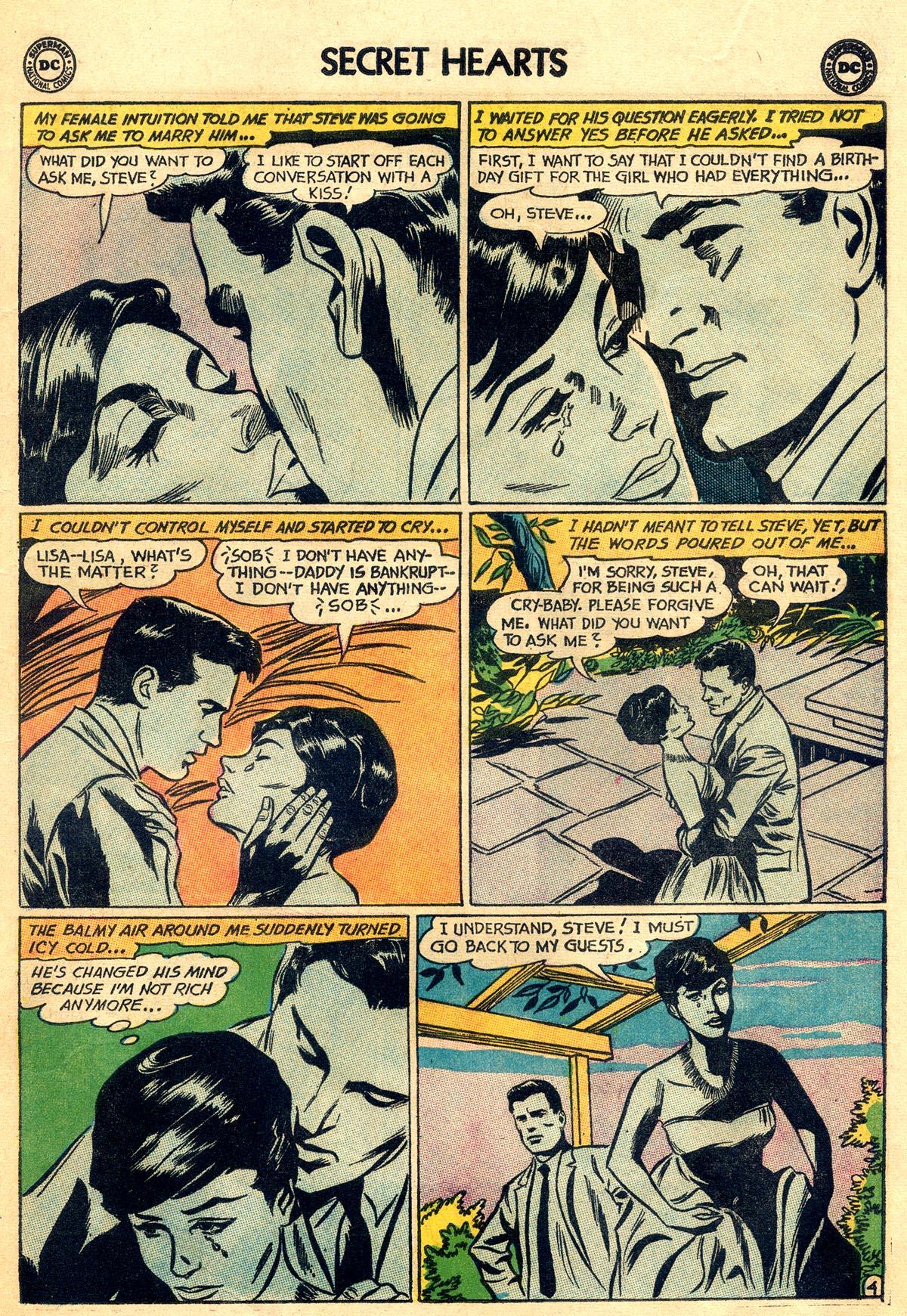 Read online Secret Hearts comic -  Issue #92 - 13