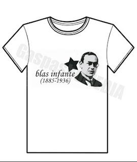 """Camiseta """"Blas Infante(1885-1936)"""""""