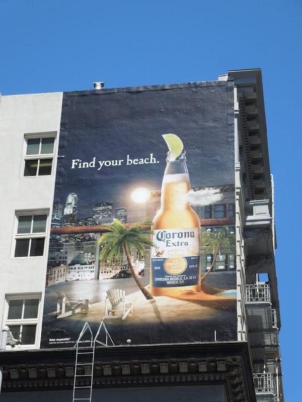 Corona billboard San Francisco