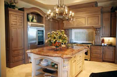 Oversized Kitchen Islands