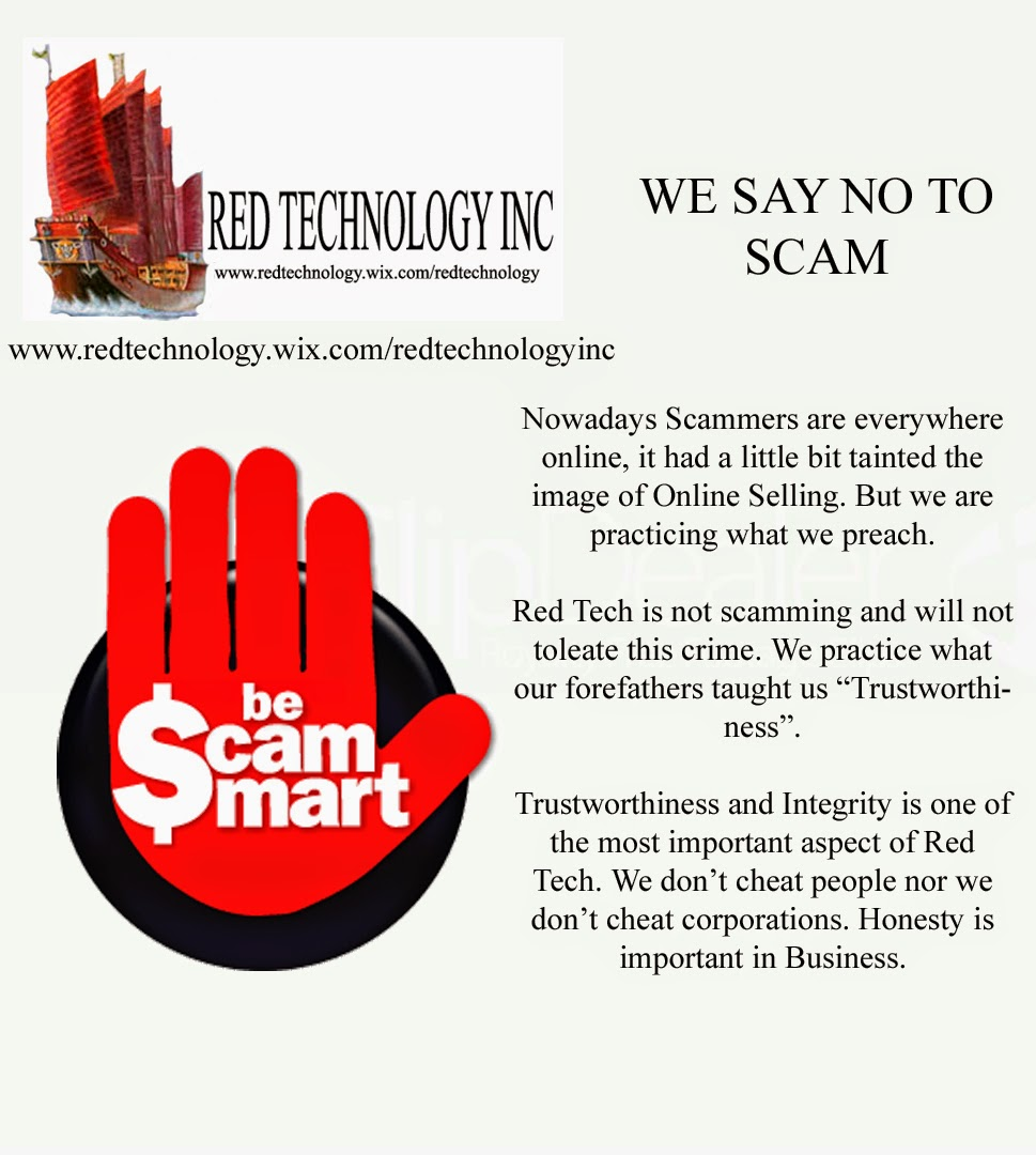 Red Tech Say No to Scam