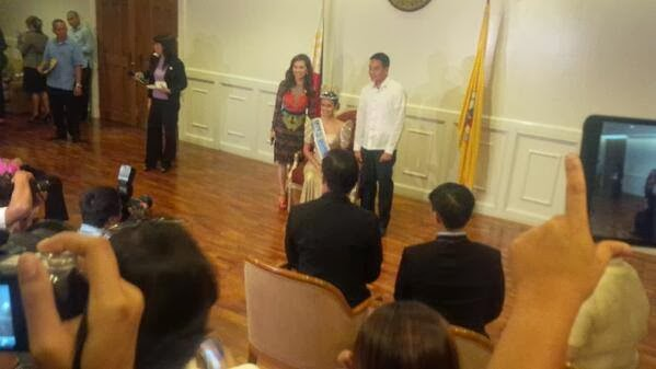 Megan Young Latest Activities, Photos & Videos: Courtesy Call to