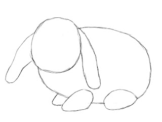 How To Draw A Bunny Step 4