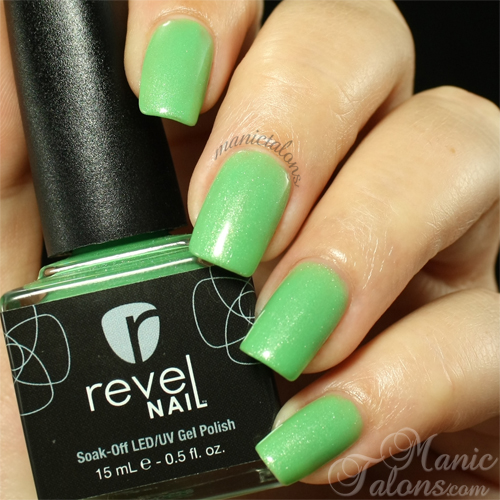 Revel Nail Gel Polish Slainte Swatch