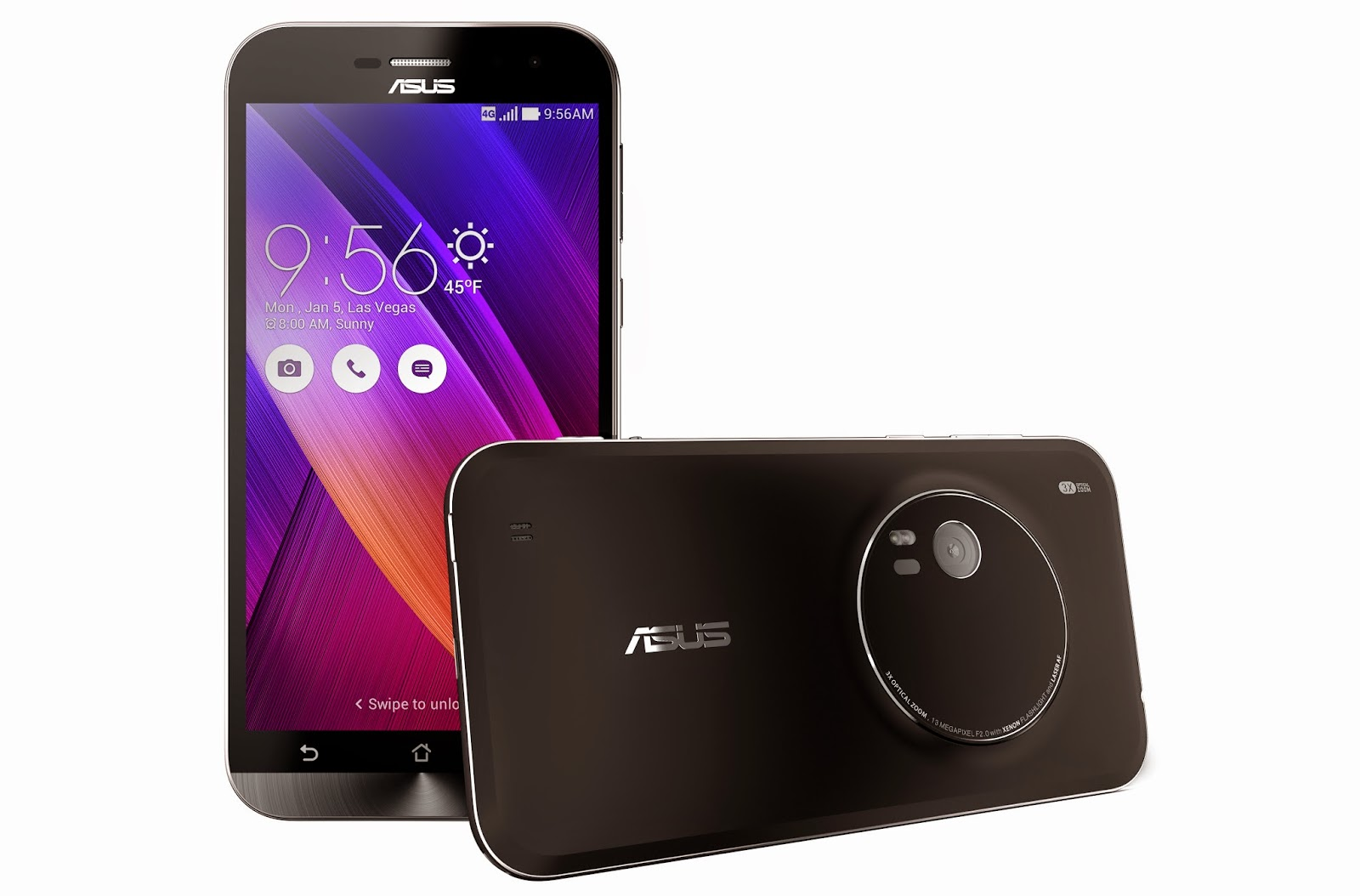 ASUS Unveils ZenFone 3 With Super Specs in a Great Price and Camera-Centric ZenFone Zoom lens.