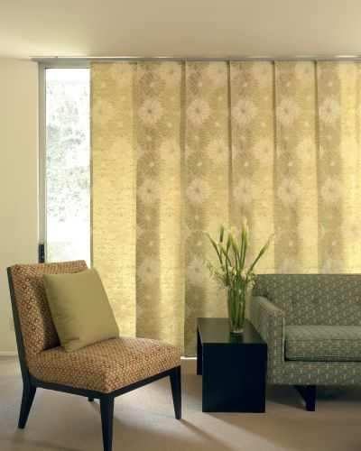 Sliding Glass Door Window Treatments Ideas 400 x 500